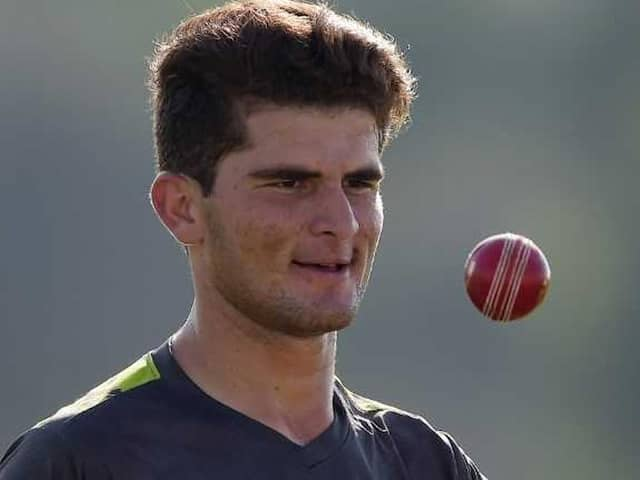 Pakistans Shaheen Afridi Set For Test Debut Against New Zealand