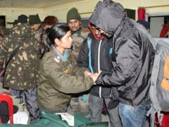 Over 3,000 Tourists Stuck In Sikkim Due To Heavy Snowfall Rescued By Army