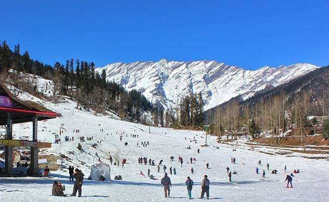 Temperature Lowers In Himachal Pradesh With Chances Of Snowfall