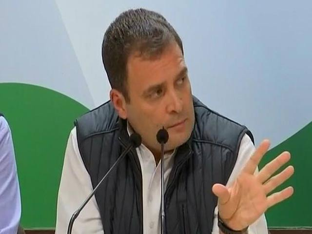 """Video : """"PM Modi Taught Me What Not To Do"""": Rahul Gandhi On State Wins"""