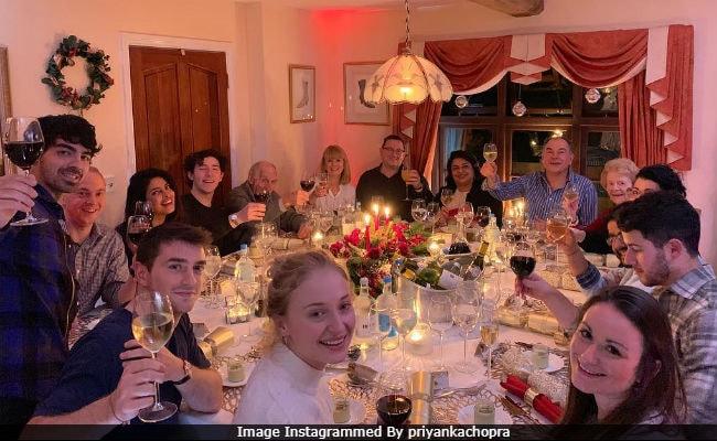 In Pics: Full House At Priyanka Chopra And Nick Jonas' Christmas Party