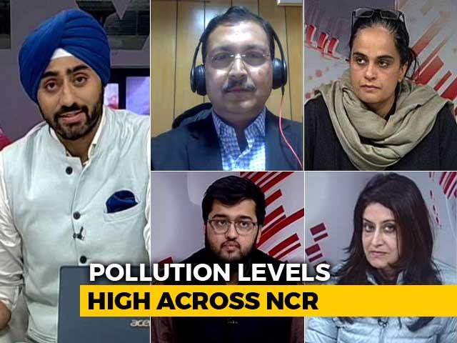 Video : Delhi's Bleak Christmas: Less Cheer, More Poison In The Air?
