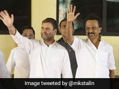 Day After BJP-AIADMK, Rahul Gandhi May Seal The Deal With DMK Today