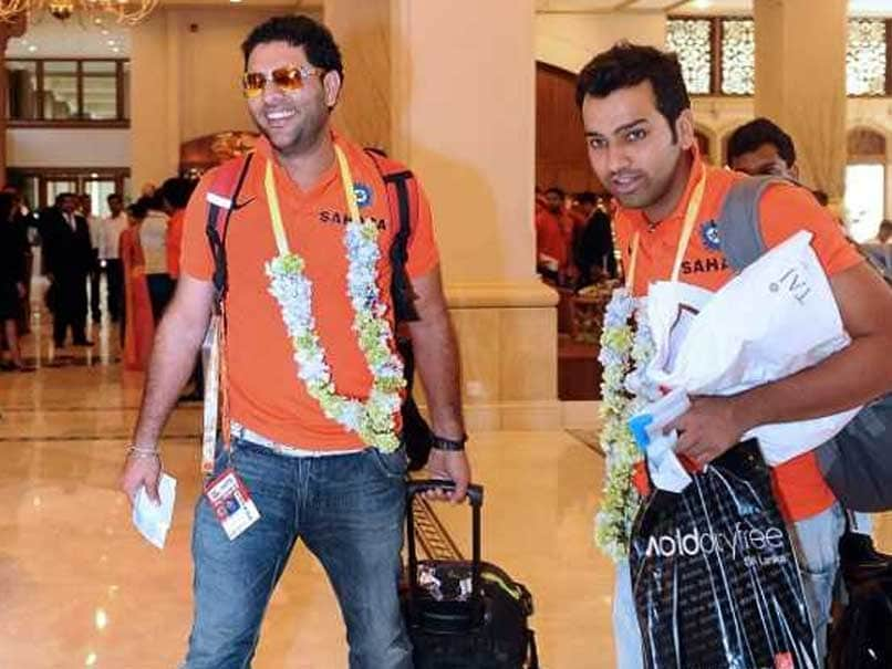 """Indian Premier League 2019: Rohit Sharma Welcomes Yuvraj Singh To """"City Of Heroics"""""""