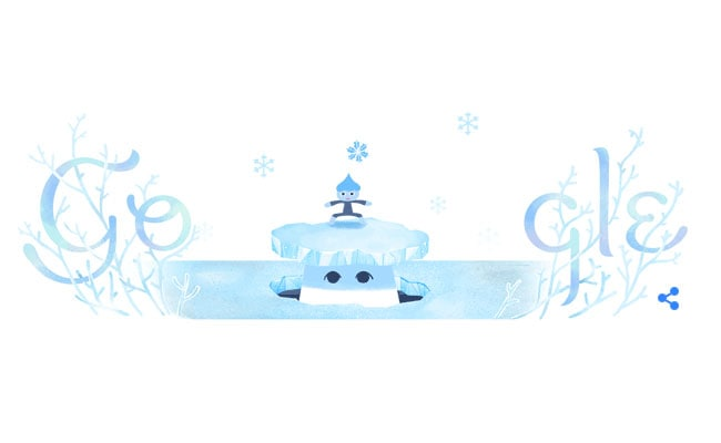 Google Marks Winter Solstice, Shortest Day Of The Year With A Doodle