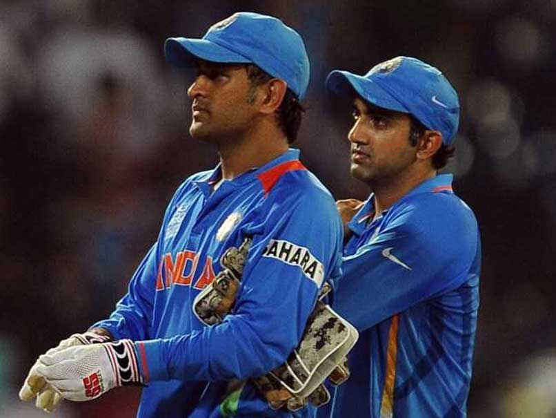 """Was A Massive Shock"": Gambhir Slams Dhoni's Captaincy In 2012 CB Series"