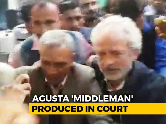 "Video : Agusta ""Middleman"" Christian Michel Sent To 5-Day CBI Custody"