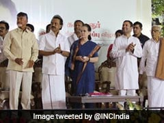 Ahead Of Opposition Get-Together, Gandhis In Chennai For Curtain-Raiser