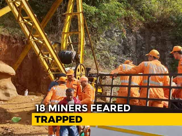 Video : Six Days On, Rainstorm Hinders Rescue Efforts At Flooded Meghalaya Mine