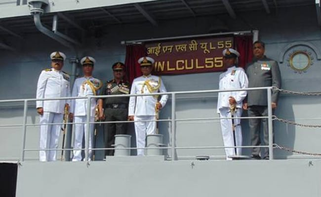 Navy Inducts 5th Landing Craft Utility Ship, Will Transport Battle Tanks
