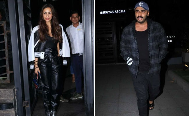 Spotted Again: Rumoured Couple Malaika Arora And Arjun Kapoor On A Dinner Date