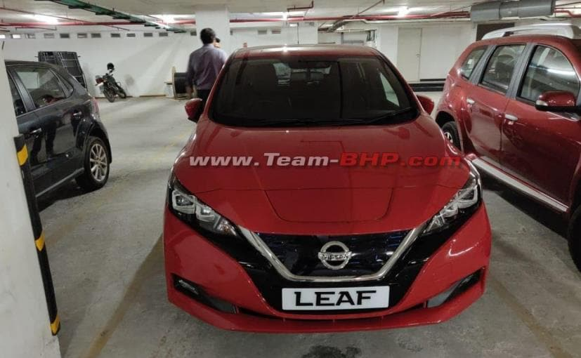 The new Nissan Leaf is currently under consideration for the Indian market