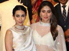 Take Notes From Karisma Kapoor And Get A White And Gold <i>Saree</i> For The Next Wedding You Have To Attend