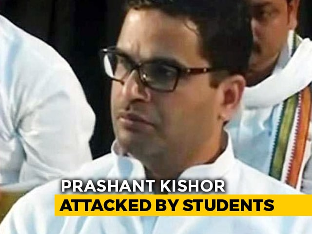 "Video : ""ABVP, You Need To Do Better"": Nitish Kumar Man Prashant Kishor Hits Back"