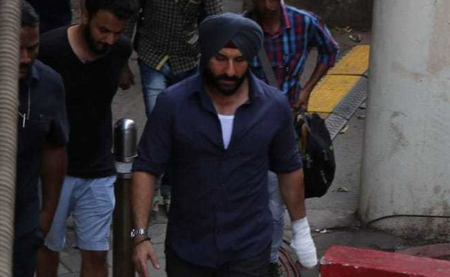 Saif Ali Khan Had A Special Visitor On The Sets Of Sacred Games 2. See Pics
