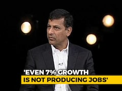 "Video: ""Lack Of Jobs A Serious Problem"": Raghuram Rajan To NDTV"