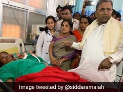 """Never Heard Of Poisoned <i>Prasad</i>"": Siddaramaiah After 11 Dead In Karnataka"