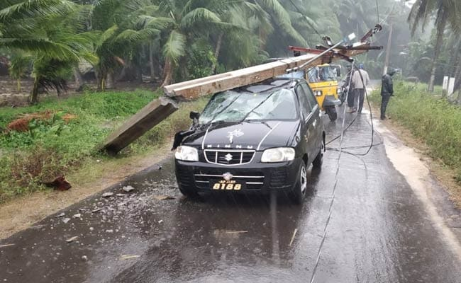 Over 11,000 Evacuated In Odisha As Cyclone Phethai Hits Andhra
