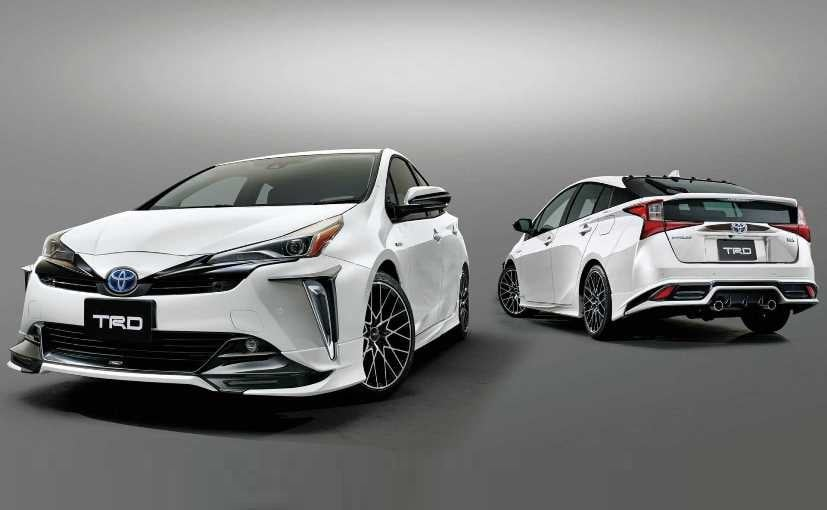 Toyota Prius TRD is based on the 2019 Prius facelift, which was revealed at the Los Angeles Auto Show