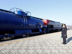 North, South Korea Inaugurate Rail, Road Project; Sanctions Delay Construction