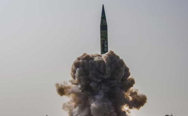 India Successfully Test Fires Nuclear-Capable Agni-5 Missile