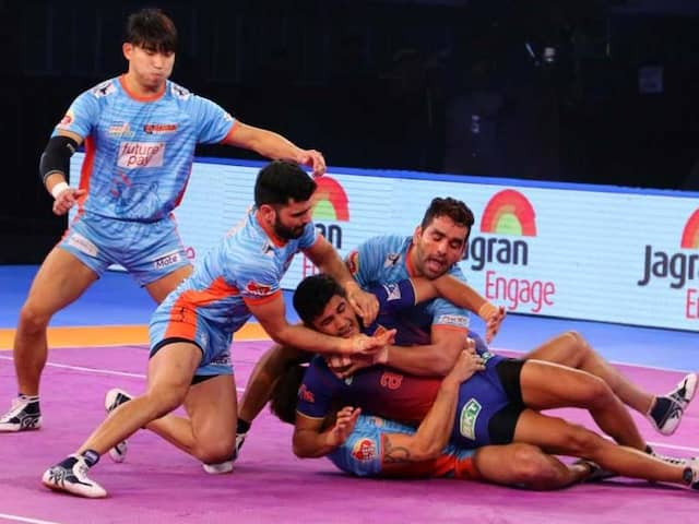 Pro Kabaddi League: Dabang Delhi Beat Bengal Warriors 37-31