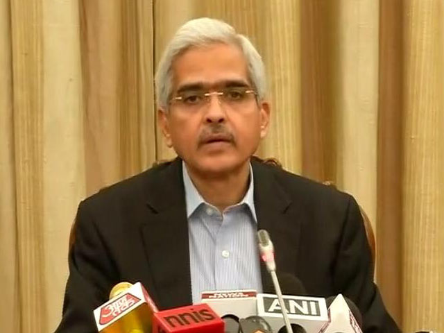 Video : Shaktikanta Das Appointed New RBI Governor