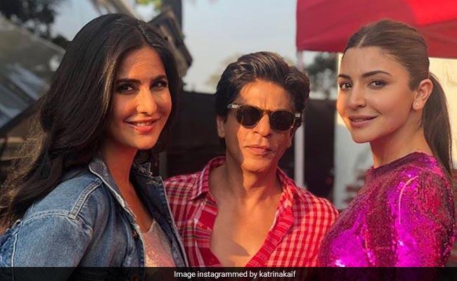 Zero: Katrina Kaif 'Feels Fortunate To Be Part Of The Film And Working With Shah Rukh Khan And Anushka Sharma'