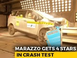 Video : Exclusive: Mahindra Marazzo Gets 4 Stars in Crash Test