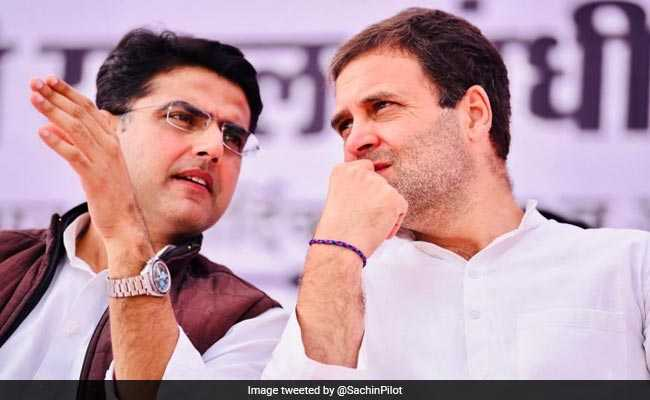 No Meet With Rahul Gandhi, Says Sachin Pilot
