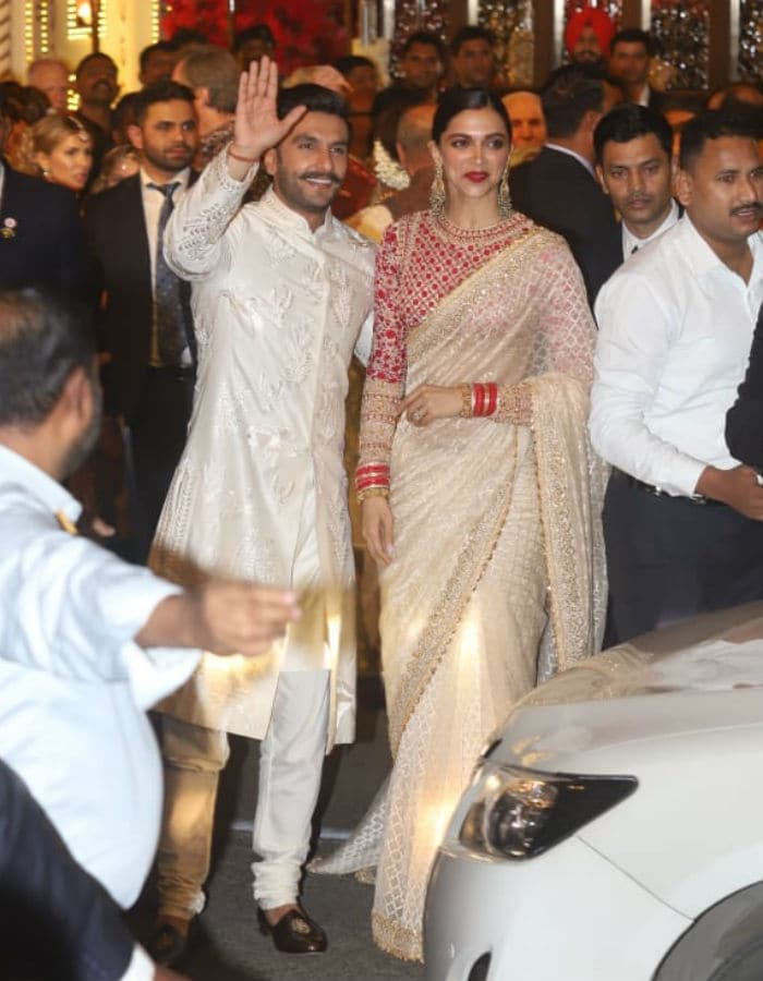 Isha Ambani Wedding: Newlyweds Deepika Padukone, Ranveer ...