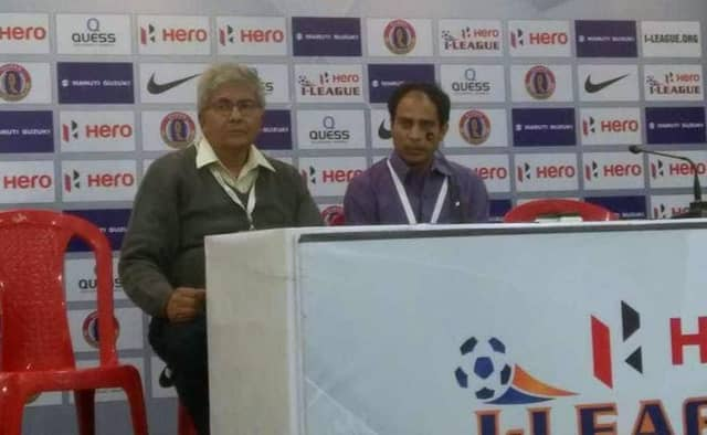 Mohun Bagan coach Sankarlal Chakraborty shared his feeling after losing 1st I League Derby