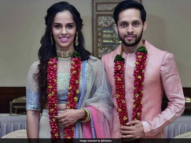 Saina Nehwal, Parupalli Kashyap Get Married, Announce On Twitter
