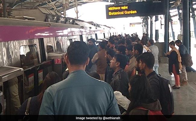 Delhi Metro Magenta Line Delayed By 'Technical Snag', Again