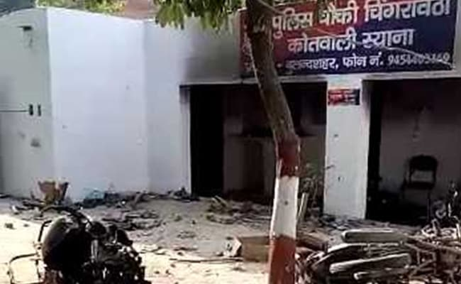 Village Auto Body >> Bulandshahr Violence: Cop Among 2 Killed As Mob Attacks ...