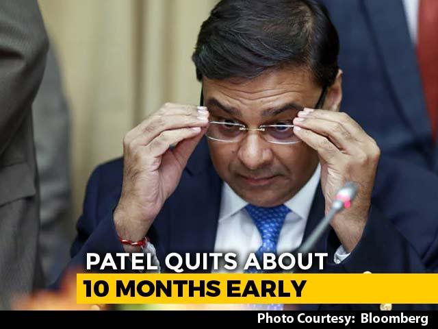 "Video : ""Surprised"", Says RBI Independent Director On Urjit Patel's Resignation"