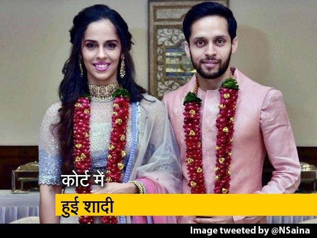 Videos : सायना नेहवाल ने पी कश्यप संग रचाई शादी