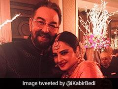 Rekha And Kabir Bedi's <I>Khoon Bhari Maang</I> Reunion At Priyanka Chopra And Nick Jonas' Wedding Reception
