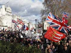 Rival Brexit Marches In UK Ahead Of Crucial Vote In Parliament