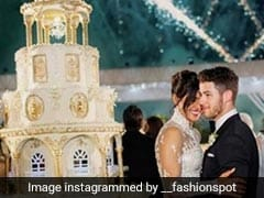 Priyanka Chopra And Nick Jonas' Exquisite Wedding Cake Was A Towering 18-Ft Dessert!