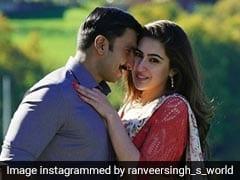 Simmba Song Tere Bin: सारा अली खान से इश्क फरमाते दिखे 'सिम्बा' रणवीर सिंह, 'तेरे बिन' में धांसू केमिस्ट्री