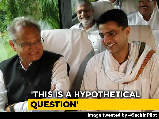 Video : Amid Exit Poll Cheer For Congress, Ashok Gehlot Dodges Rajasthan Question