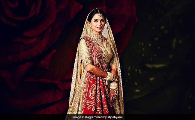 Just Married. Isha Ambani And Anand Piramal; First Pics Are Out