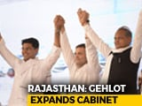 Video: Rajasthan's New 23-Member Cabinet Has 2019 Flavour. Lone Ally Gets Place