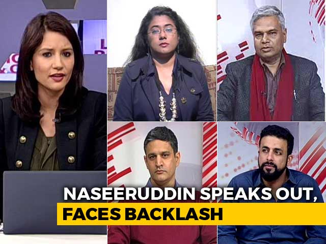 Video : The Naseeruddin Shah Row: Criticism A Crime?