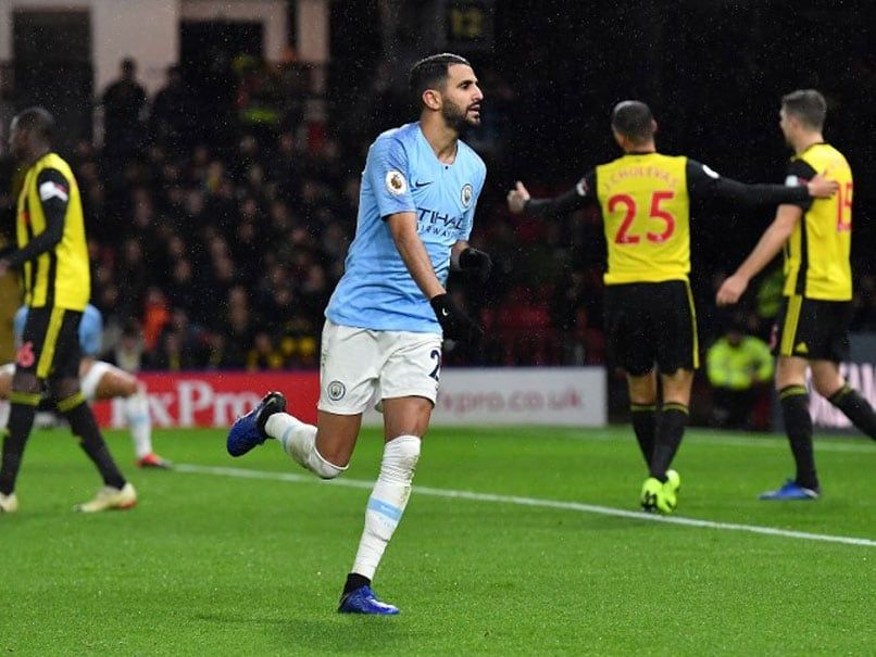 Premier League: Manchester City Withstand Late Watford Onslaught To Move Five Points Clear