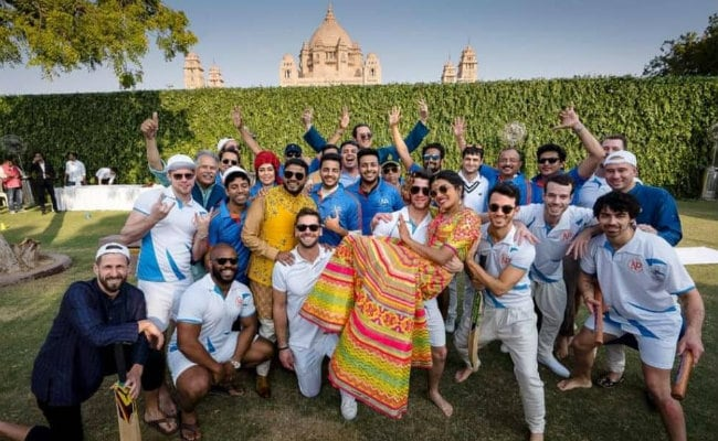 Priyanka Chopra, Nick Jonas' Jodhpur Wedding: Actress Shares 'Team Bride Vs Team Groom' Pic From Mehendi