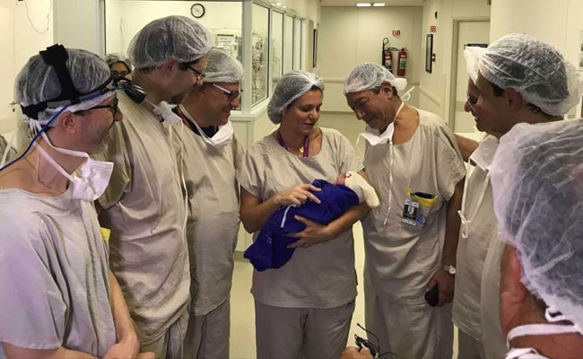 World's First Baby Born Out Of Womb Transplanted From Dead Donor