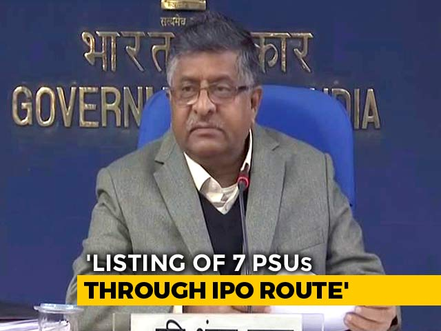 Video : Cabinet Clears Public Offer Plans Of 7 State-Run Companies