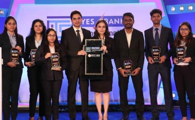 IIM Bangalore Winners Of Yes Bank Case Contest